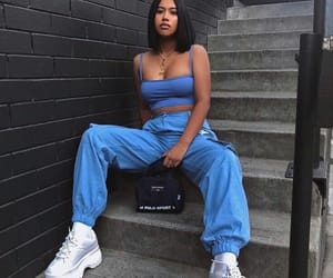 casual, hair, and street style image