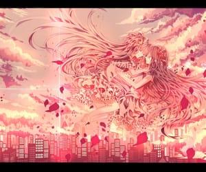 anime, homura akemi, and pink image