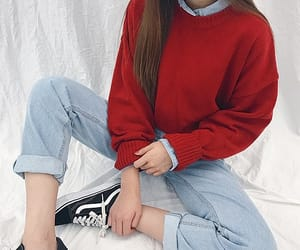 fashion, girl, and sport shoes image