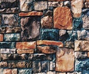 orange, blue, and wall image
