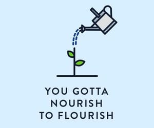 quotes, flourish, and grow image