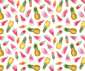 FRUiTS, ice cream, and pineapple image