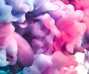 azul, morado, and rosa image