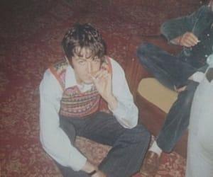 aesthetic, Paul McCartney, and smoke image