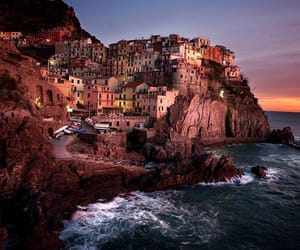 italy, beautiful, and manarola image