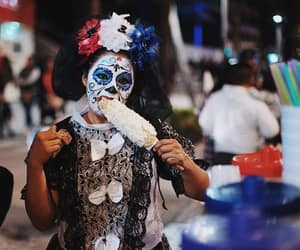 day of the dead, photography, and sugar skull image