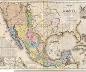 mapa, mejico, and estados image