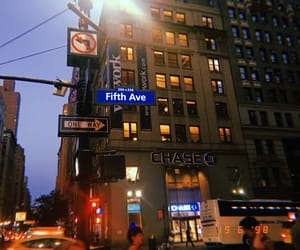 new york, ny, and fith avenue image
