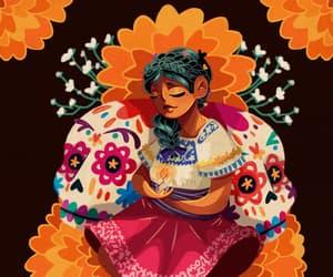day of the dead, dia de los muertos, and mexico image