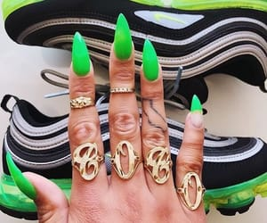 acrylics, aesthetic, and claws image