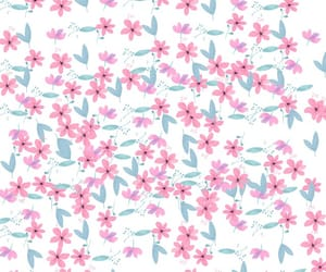 background, spring, and flowers image