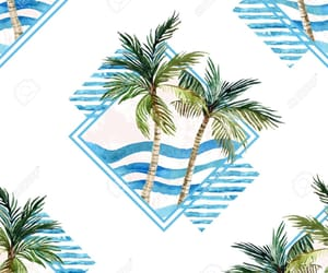 palm trees, tree, and background image
