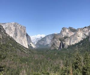 mountains, nature, and yosemite image