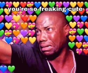 heart, meme, and mood image
