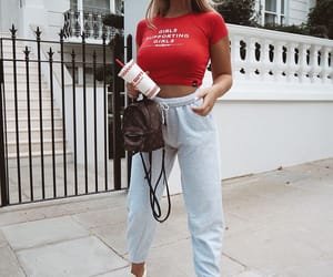 blogger, comfy, and outfit image