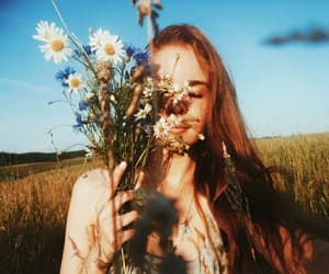 aesthetic, alternative, and flowers image