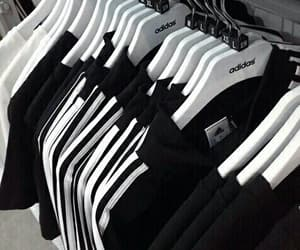 adidas, black, and clothes image
