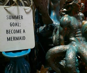 goal, mermaid, and summer image