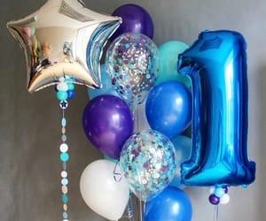 baloons and one image