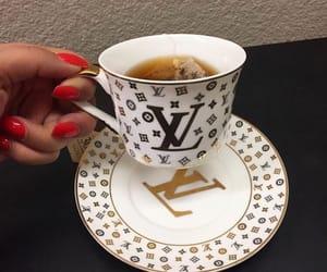tea, luxury, and Louis Vuitton image