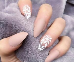 nails, Nude, and fashionlover image