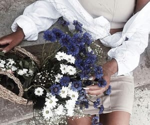 fashion, summer, and flower image