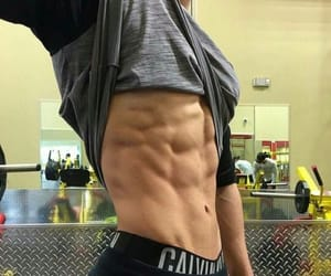 body, boy, and abs image