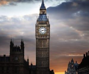 arquitectura, reloj, and torre image