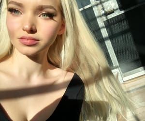dove cameron and blonde image