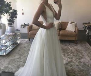 simple wedding dress image
