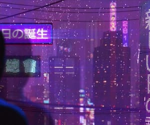 purple and tokyo image