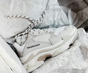 Balenciaga, sneakers, and white image
