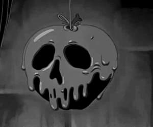 aesthetic, apple, and black and white image