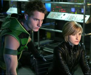smallville, justin hartley, and oliver queen image