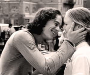 10 things i hate about you, black and white, and kiss image