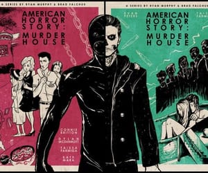 murder, american horror story, and murder house image