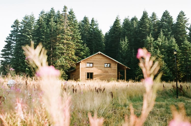 article, country, and dream home image