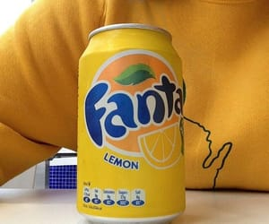 fanta, aesthetics, and lemon image