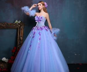 beauty, dress, and fairytale image