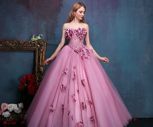 dress, fairytale, and fantasy image