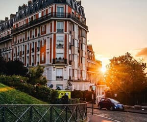 montmartre, paris, and sunrise image