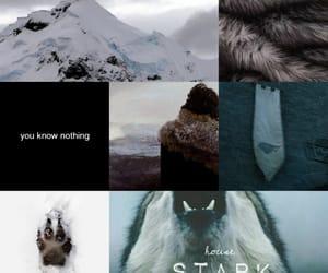 neige, stark, and loup image
