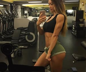 fitness, gymshark, and fitnessmodel image