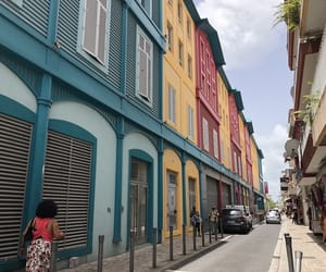 colors, martinique, and street image