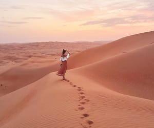 desert, travel, and adventure image