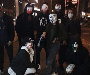 squad, friends, and mask image