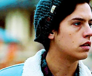 gif, cole sprouse, and handsomeü image
