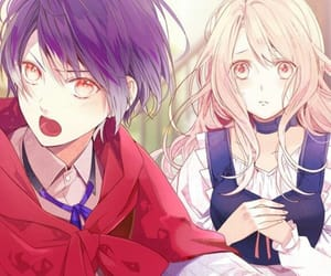 scarlet, fuka, and otome game image