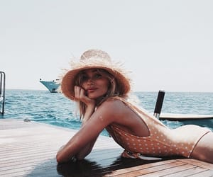 girl, summer, and elsa hosk image