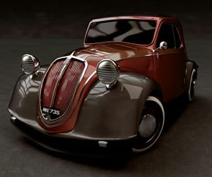1936, fiat, and vintage cars image